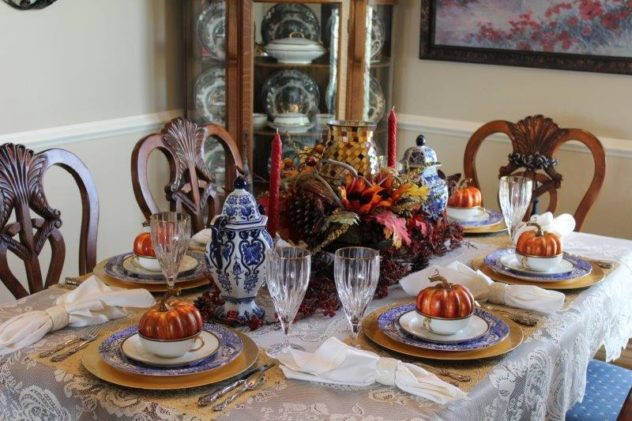 Belle Bleu Interiors Fall Tablescape 13