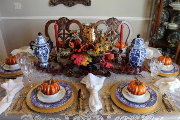 Belle Bleu Interiors Fall Tablescape 23