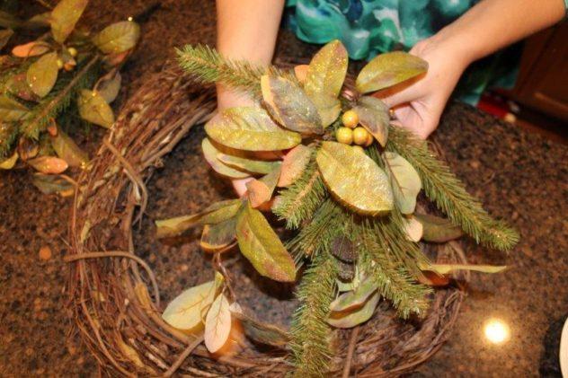 Belle Bleu Interiors Fall Wreath 16