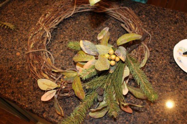 Belle Bleu Interiors Fall Wreath 17