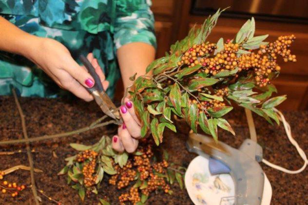 Belle Bleu Interiors Fall Wreath 25