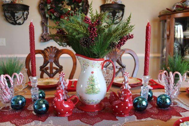 Belle Bleu Interiors Christmas Tablescape Blog Hop 11