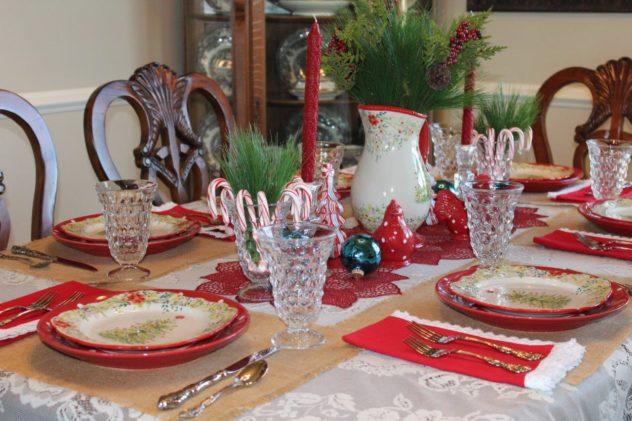 Belle Bleu Interiors Christmas Tablescape Blog Hop 12