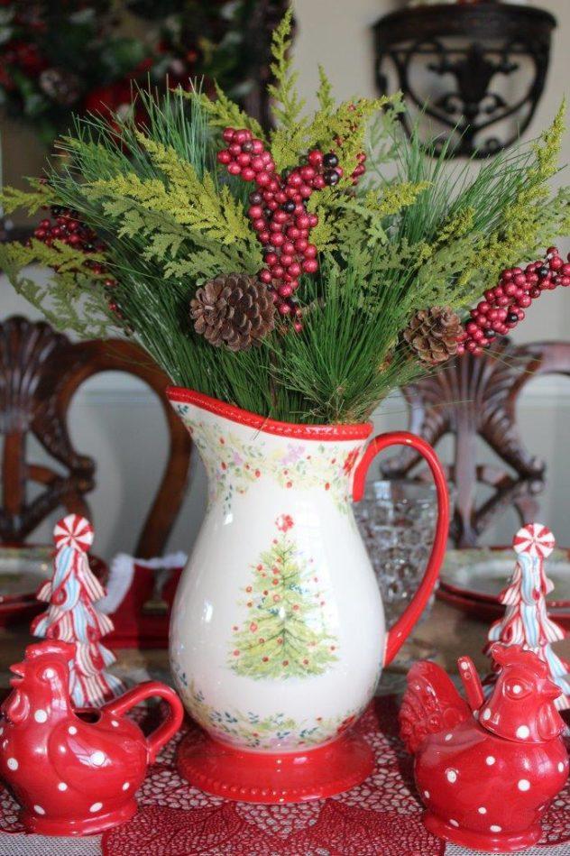 Belle Bleu Interiors Christmas Tablescape Blog Hop 6