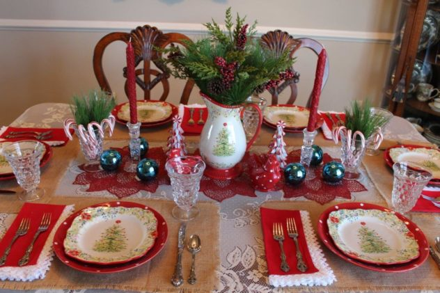 Belle Bleu Interiors Christmas Tablescape Blog Hop 9