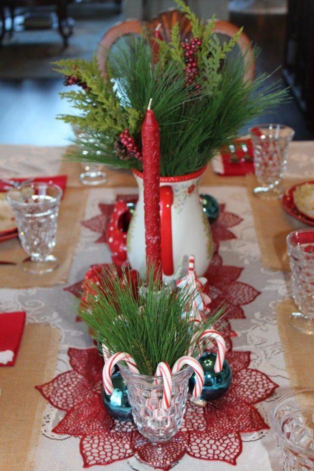 Belle Bleu Interiors Christmas Tablescape Blog Hop A