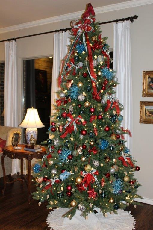 Belle Bleu Interiors Christmas Home Tour c